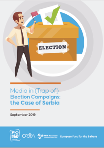 Cover_Media in Trap of Election Campaigns in Serbia